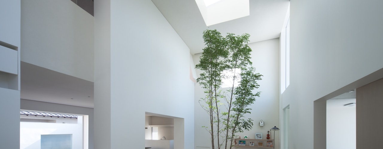 obi house: ソルト建築設計事務所が手掛けたリビングです。