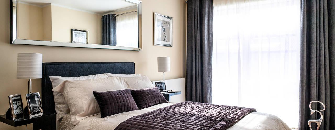 Show flat in London, The Cubitt, Battersea Lujansphotography Modern Bedroom