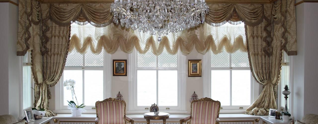 Гостиная в классическом стиле от Öztek Mimarlık Restorasyon İnşaat Mühendislik Классический