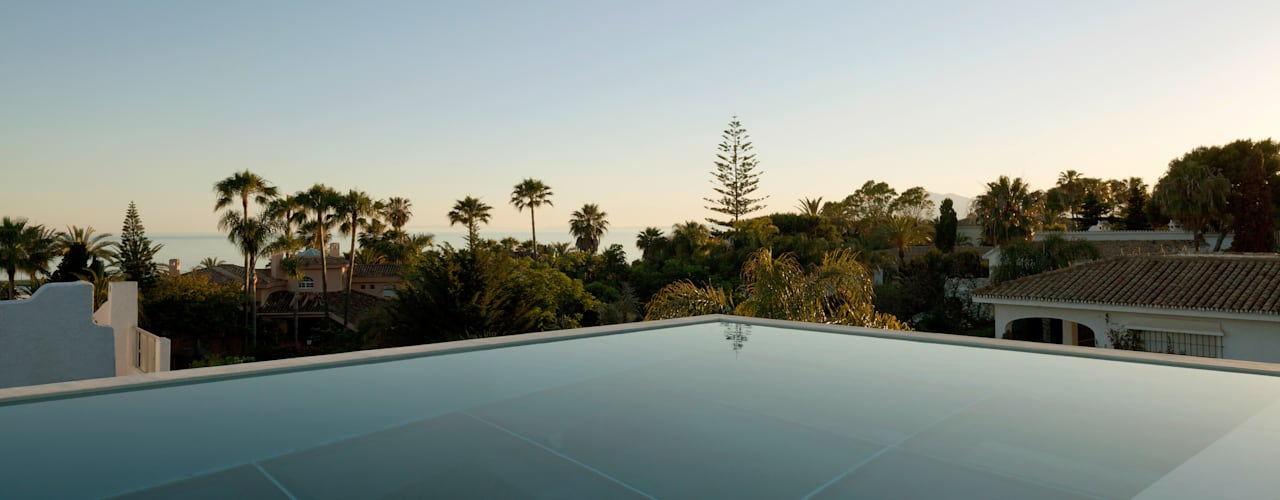 Jellyfish house Moderne Pools von Wiel Arets Architects Modern
