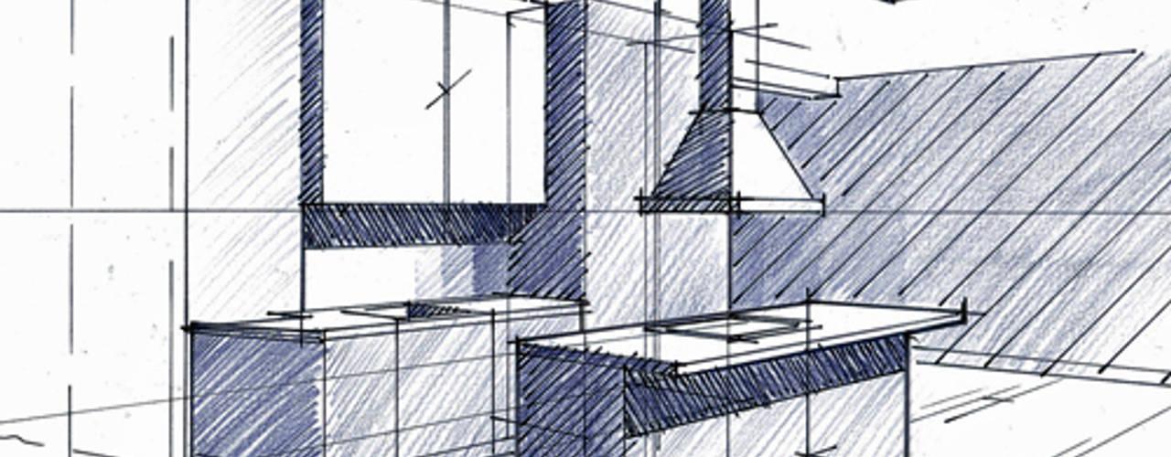Appartement Haussmannien architecture intérieure Paris 17 em Cuisine minimaliste par Philippe Ponceblanc Architecte d'intérieur Minimaliste