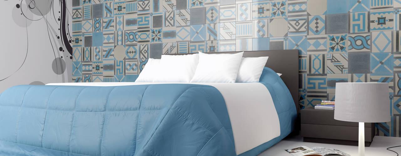 Projekty,  Sypialnia zaprojektowane przez fogazza