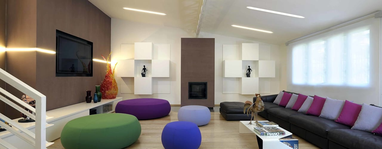 Loft in Rome di Studio Angelo Luigi Tartaglia Moderno