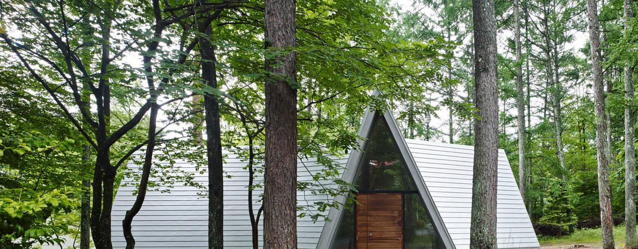 Forest House Casas modernas por カスヤアーキテクツオフィス(KAO) Moderno
