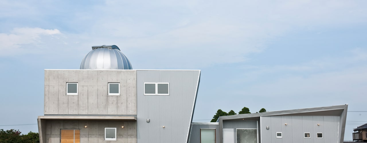 天体望遠鏡のある家 モダンな 家 の tai_tai STUDIO モダン