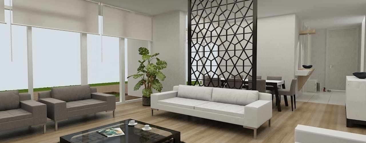 Soggiorno moderno di Niyazi Özçakar İç Mimarlık Moderno