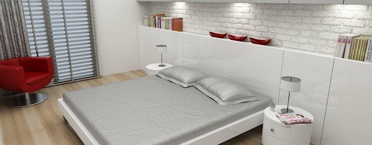 Z.Ç. EVİ Modern Yatak Odası Niyazi Özçakar İç Mimarlık Modern