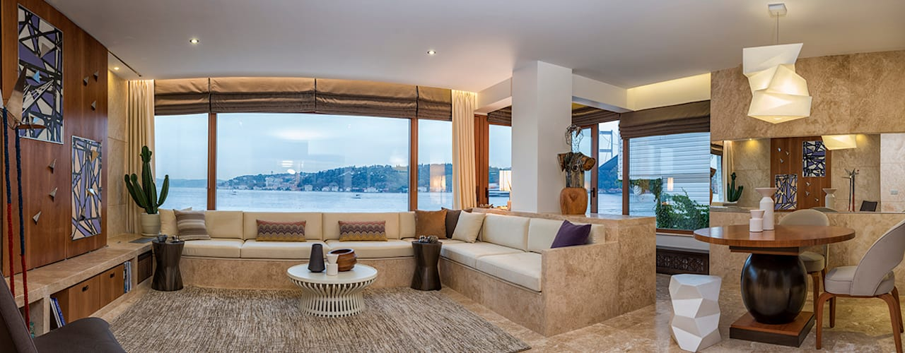 Salas de estilo  por AK Design Studio