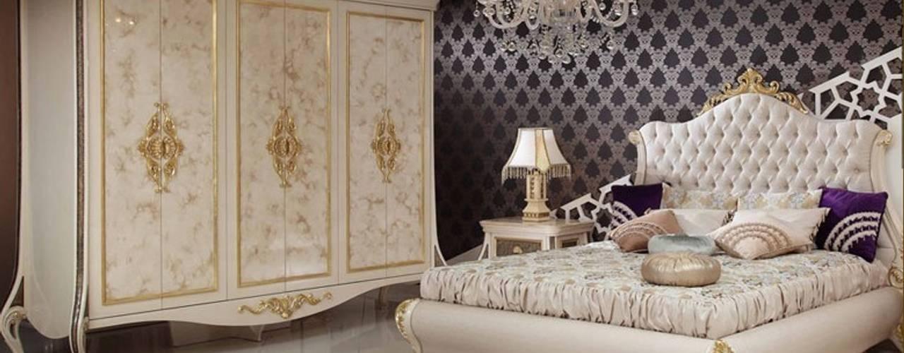 Quartos clássicos por Asortie Mobilya Dekorasyon Aş. Clássico