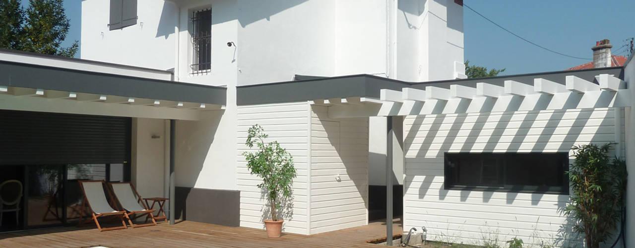 Maisons de Ville par EURL Cyril DULAU architecte Moderne