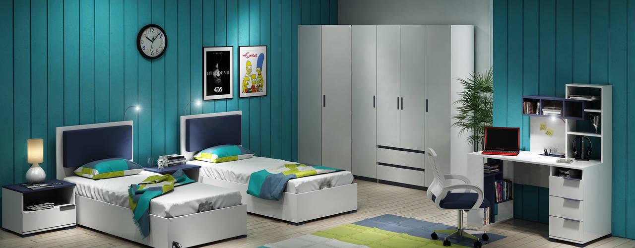 Habitaciones para niños de estilo moderno de homify Moderno