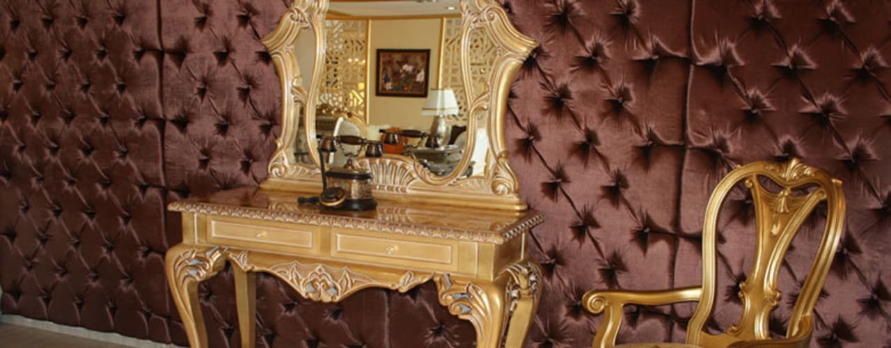 Corredores, halls e escadas clássicos por Asortie Mobilya Dekorasyon Aş. Clássico