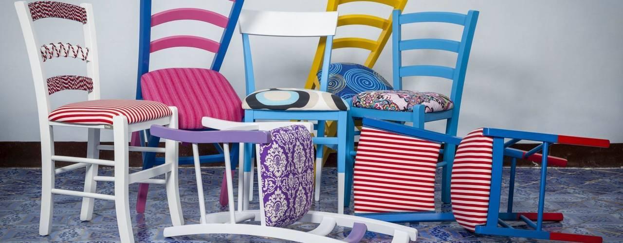Le sedie della tradizione diventano oggetti di design Plinca Home Case eclettiche