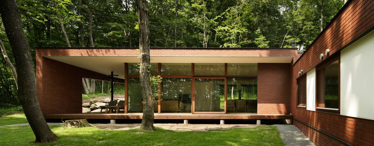 029那須Hさんの家 モダンな 家 の atelier137 ARCHITECTURAL DESIGN OFFICE モダン