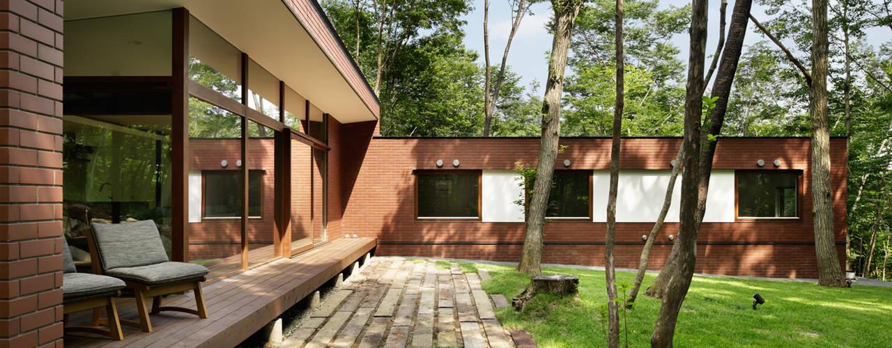 029那須Hさんの家: atelier137 ARCHITECTURAL DESIGN OFFICEが手掛けた家です。