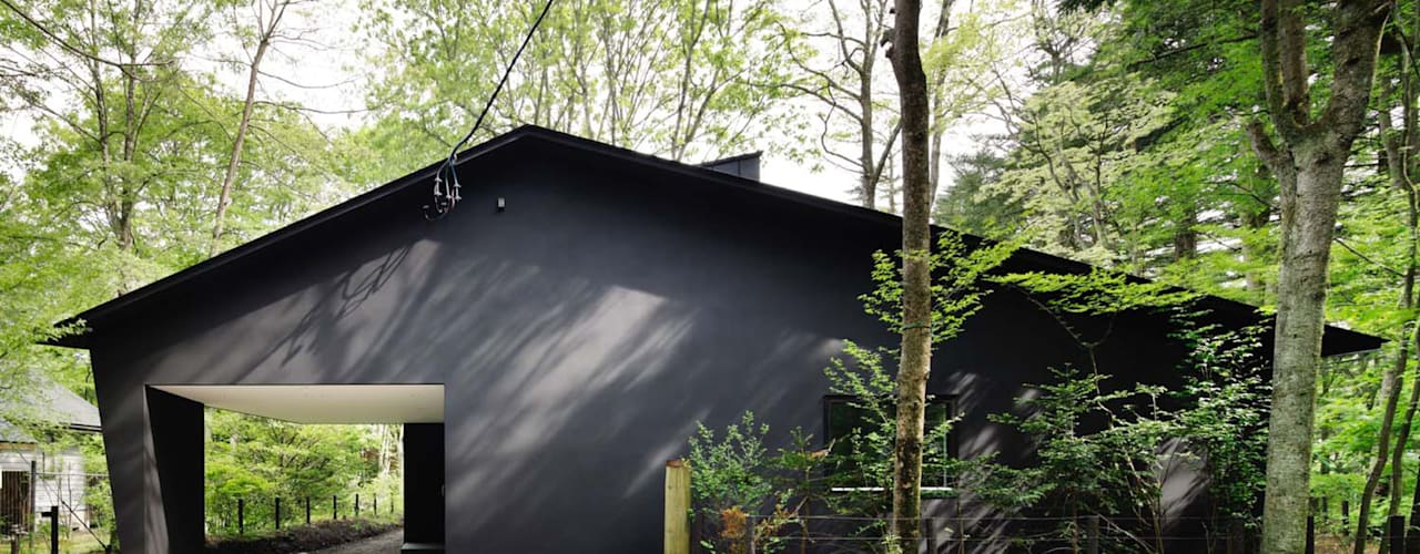 atelier137 ARCHITECTURAL DESIGN OFFICE Modern houses Black