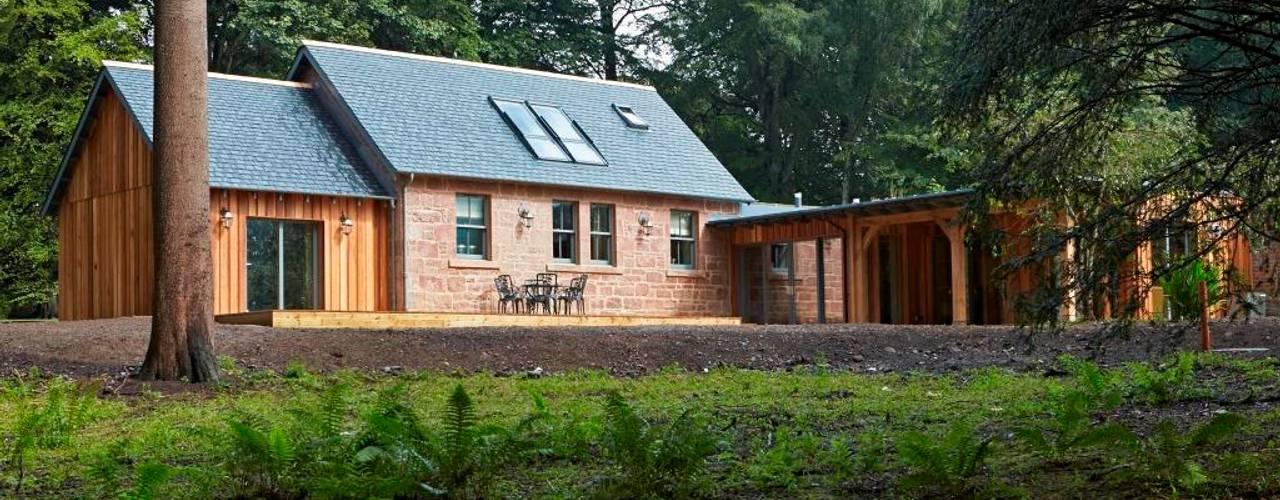 Huizen door Architects Scotland Ltd