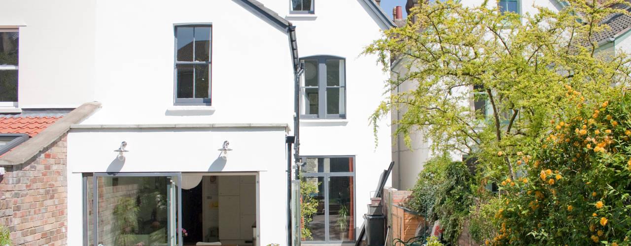 House remodelling in North Bristol Moderne huizen van Dittrich Hudson Vasetti Architects Modern