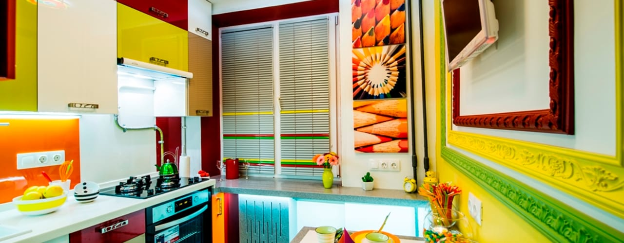 eclectic Kitchen by Сделано со вкусом на ТНТ