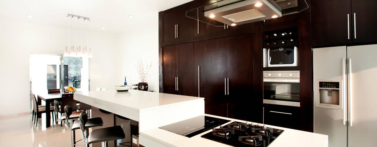 Cocina: Cocinas de estilo moderno por Arturo Campos Arquitectos