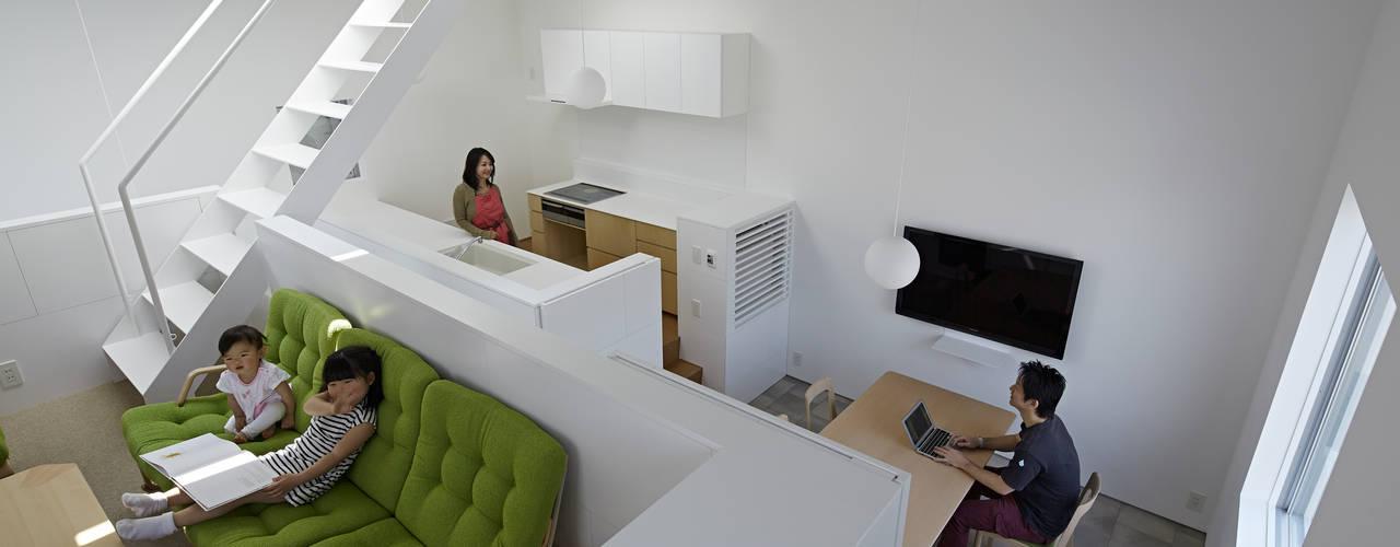 曙橋の家 モダンデザインの ダイニング の アソトシヒロデザインオフィス/Toshihiro ASO Design Office モダン