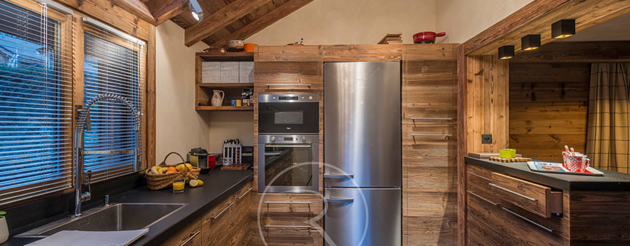 Rustic style kitchen by Sandrine RIVIERE Photographie Rustic