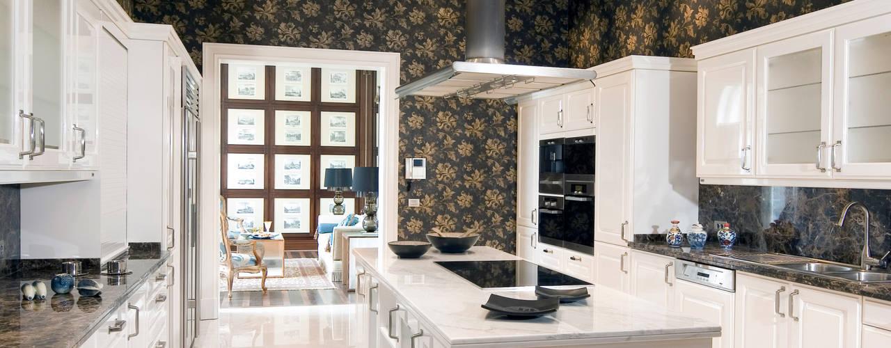 Projekty,  Kuchnia zaprojektowane przez homify, Klasyczny