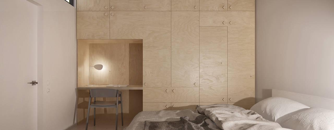 INT2architectureが手掛けた寝室