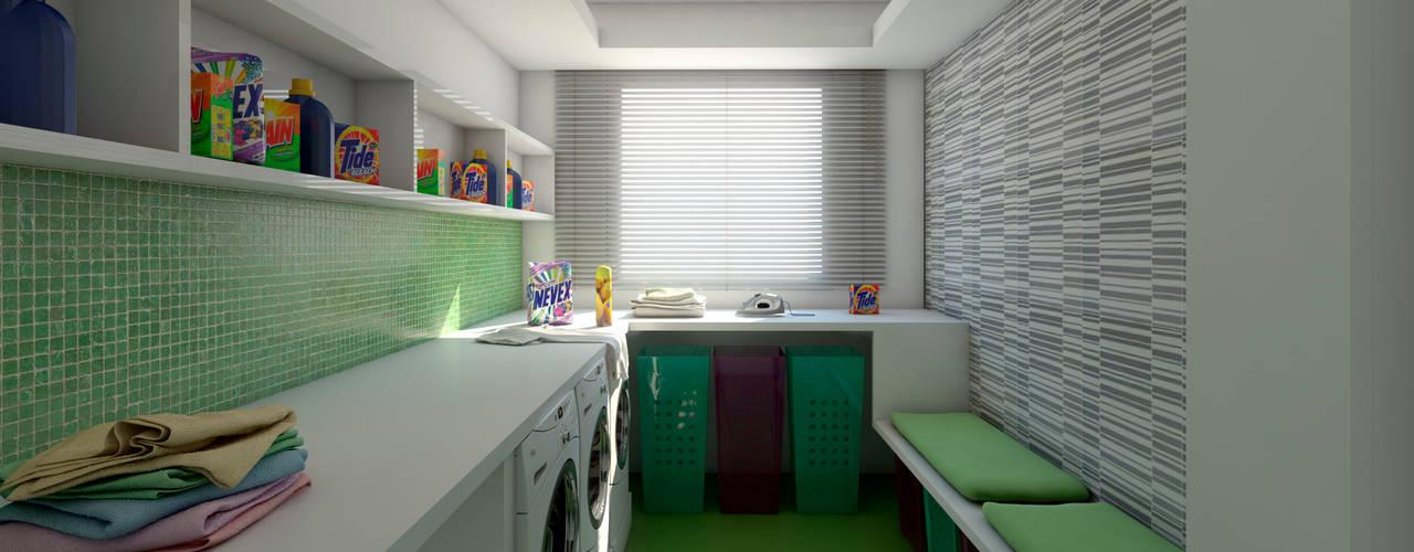 Modern kitchen by Ideia1 Arquitetura Modern