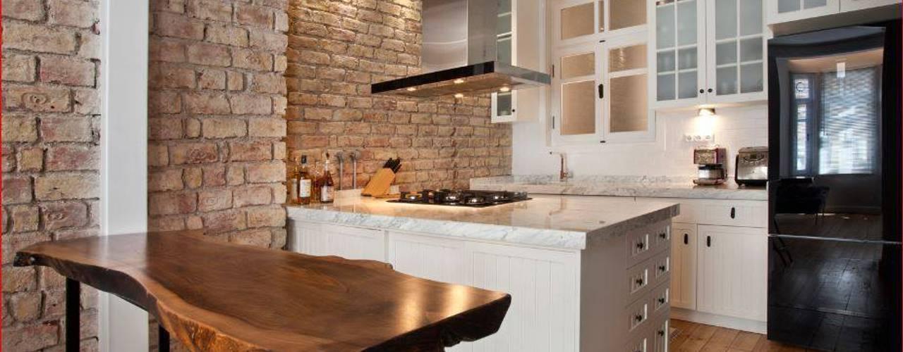 Projekty,  Kuchnia zaprojektowane przez DICLE HOKENEK ARCHITECTURE