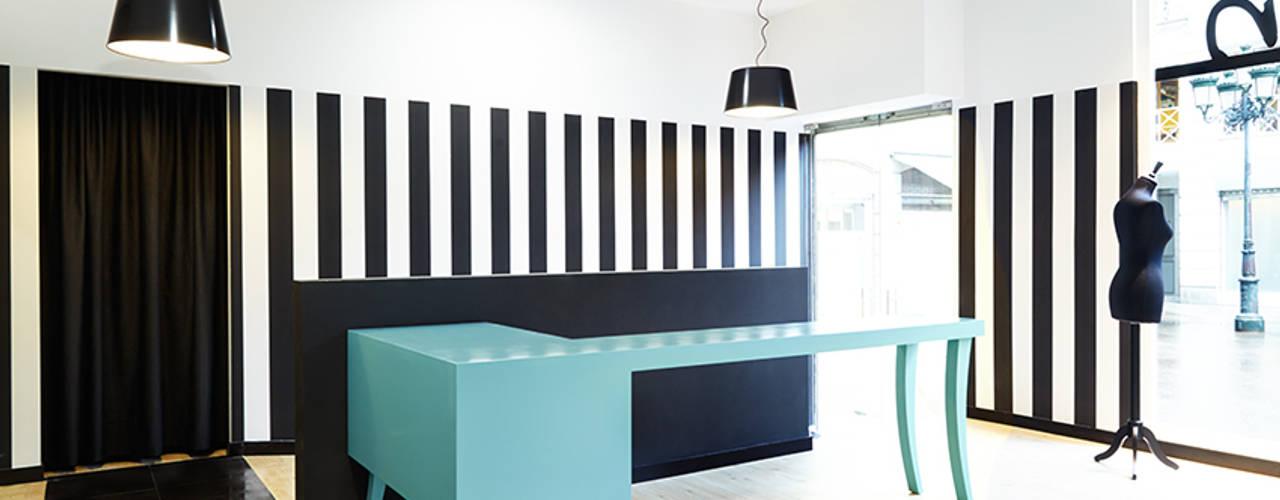 Рабочие кабинеты в . Автор – Estudio de Arquitectura Sra.Farnsworth