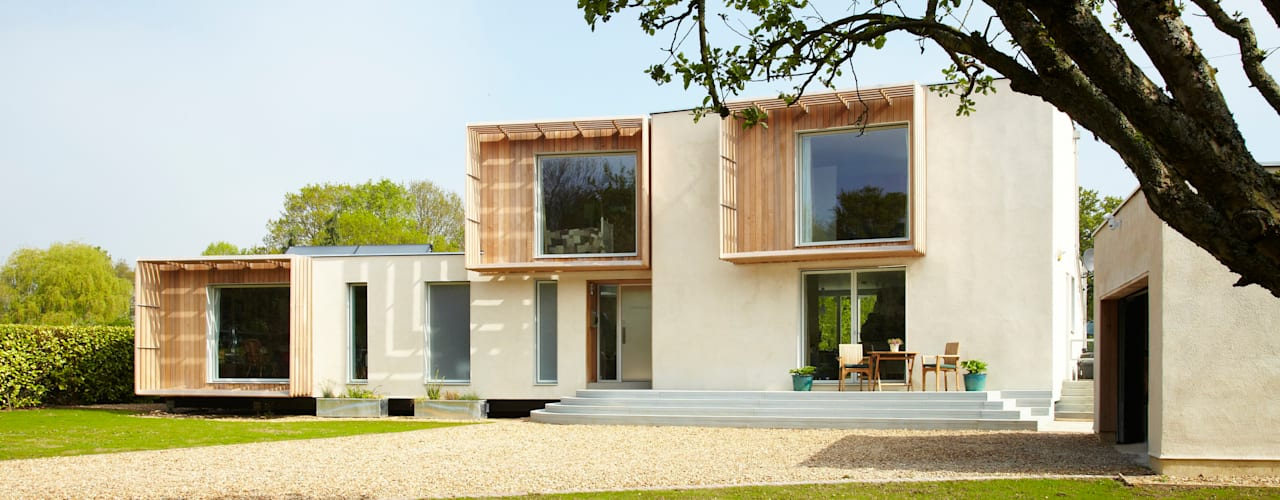 Completed Exterior:  Houses by Facit Homes