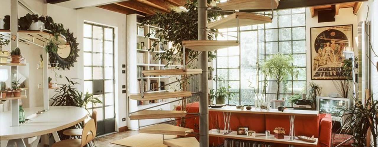 Livings de estilo ecléctico de orlandini design sas Ecléctico