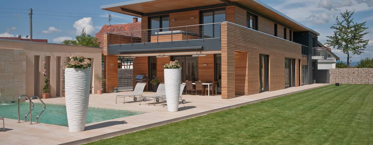 Projekty,  Domy zaprojektowane przez Grossmann Architekten, Nowoczesny