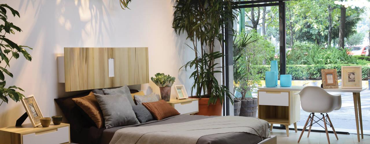 Moderne Schlafzimmer Von Clorofilia
