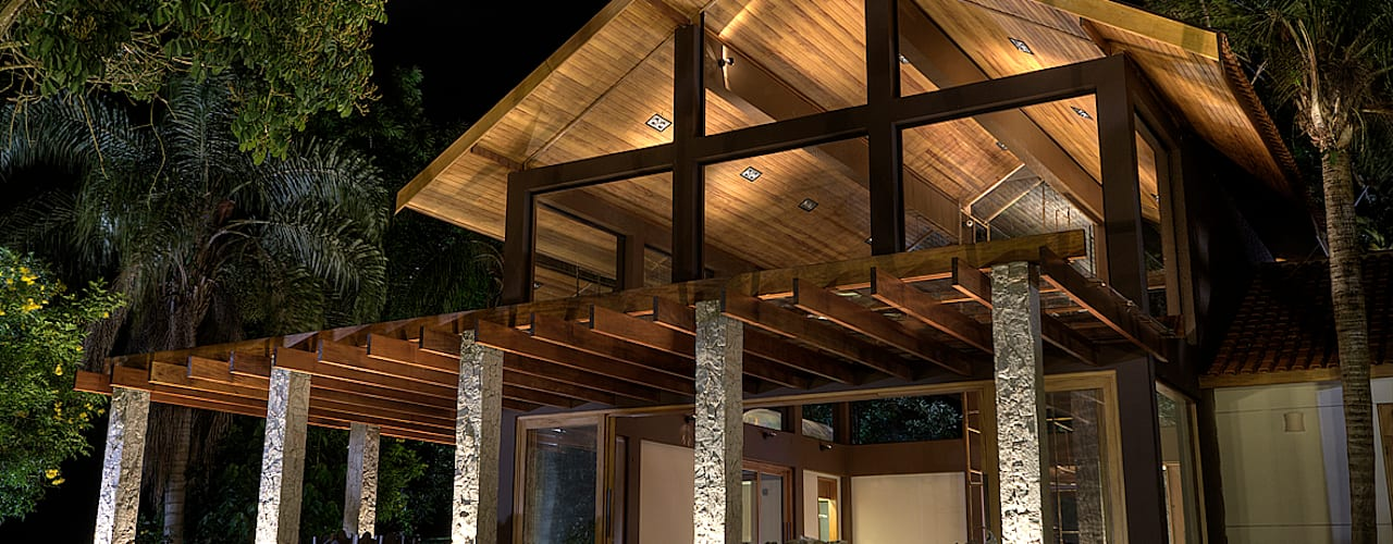 Casas de estilo  por Olaa Arquitetos