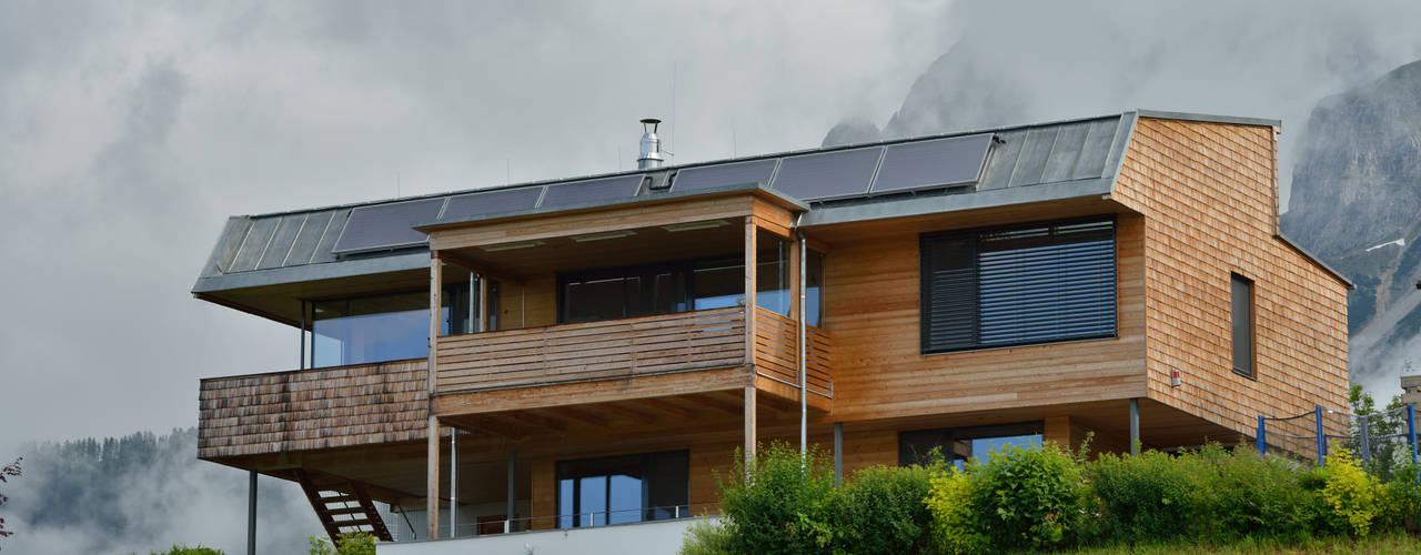 Einfamilienhaus Moderne Häuser von Thoma Holz GmbH Modern