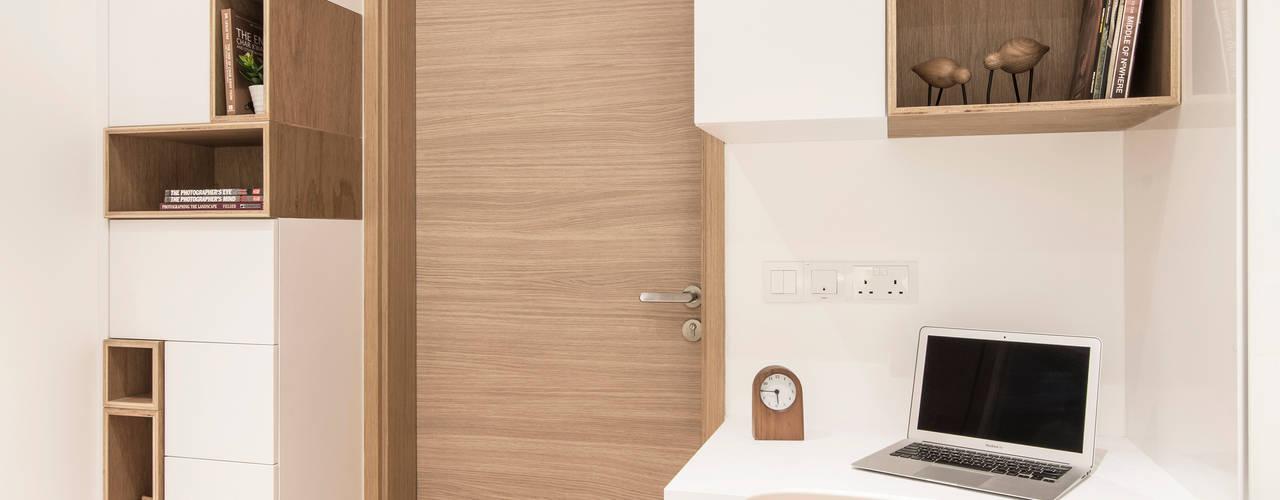 Minimalistische slaapkamers van Eightytwo Pte Ltd Minimalistisch