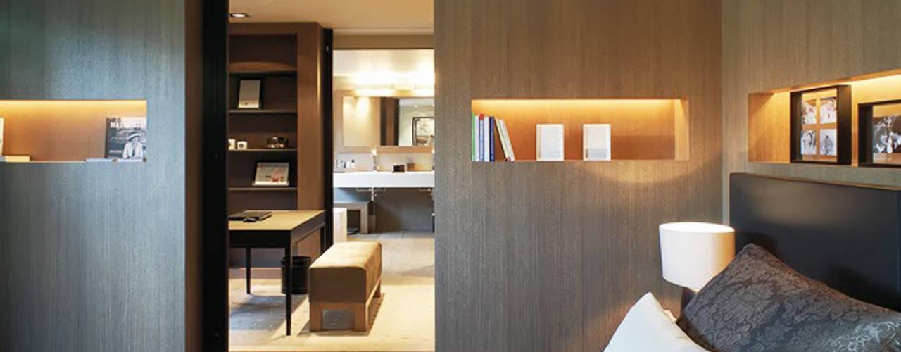 Projekty,  Sypialnia zaprojektowane przez homify, Klasyczny