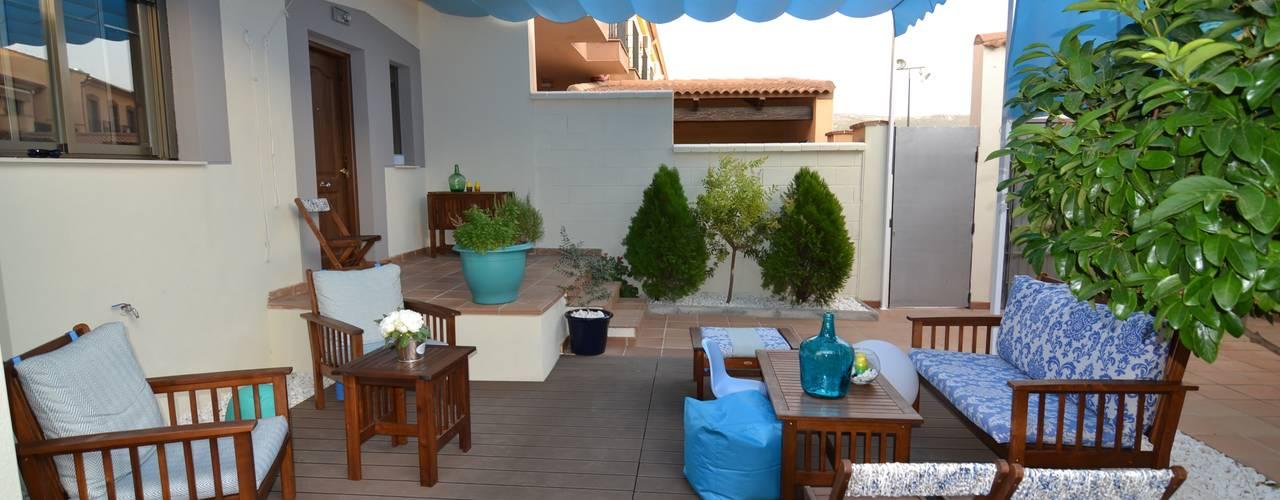 Jardines de estilo mediterráneo de MIMESIS INTERIORISMO Mediterráneo