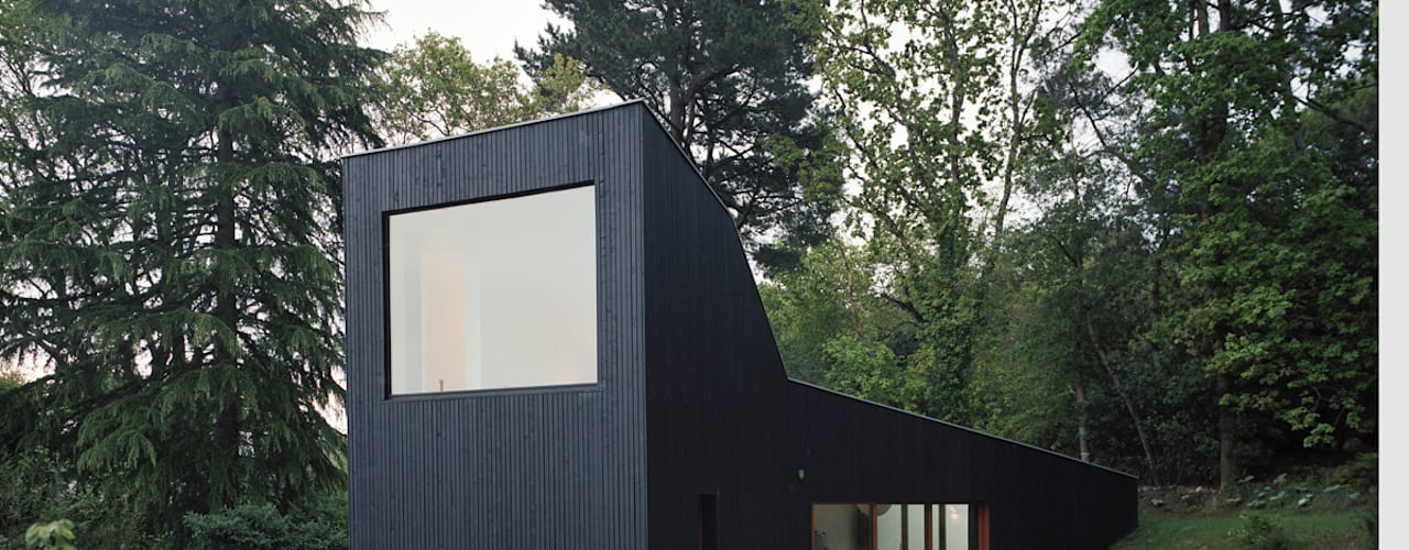 Minimalistyczne domy od RAUM Minimalistyczny
