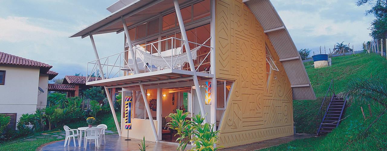 Casa Eugênia por Joao Diniz Arquitetura Casas modernas por JOAO DINIZ ARQUITETURA Moderno