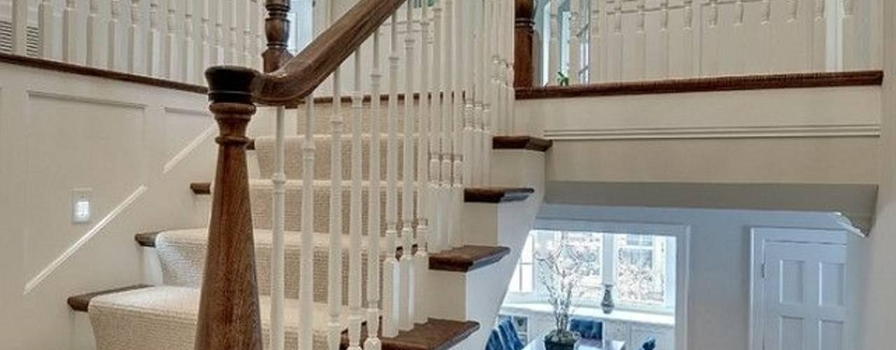 Yıldız  Ahşap merdiven ve küpeşte – beton kaplama merdiven:  tarz