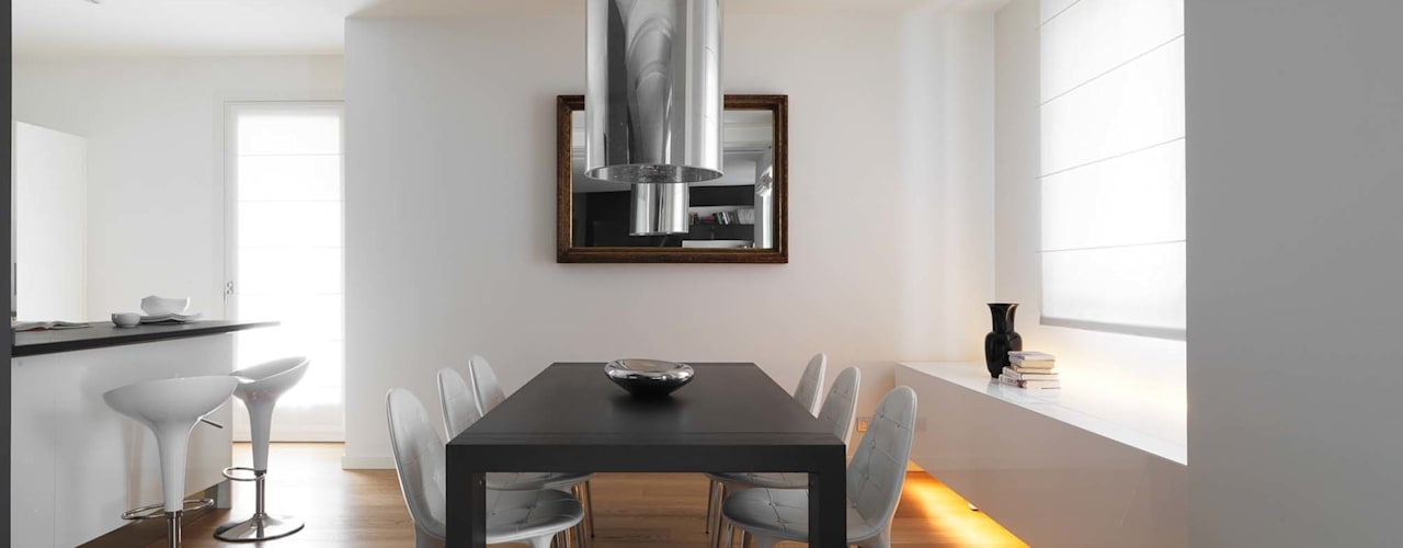 Dining room by SANSON ARCHITETTI,