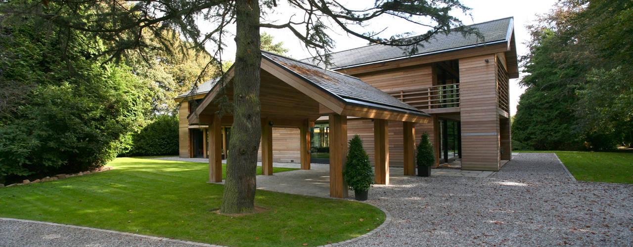 Casas de estilo ecléctico por Nicolas Tye Architects