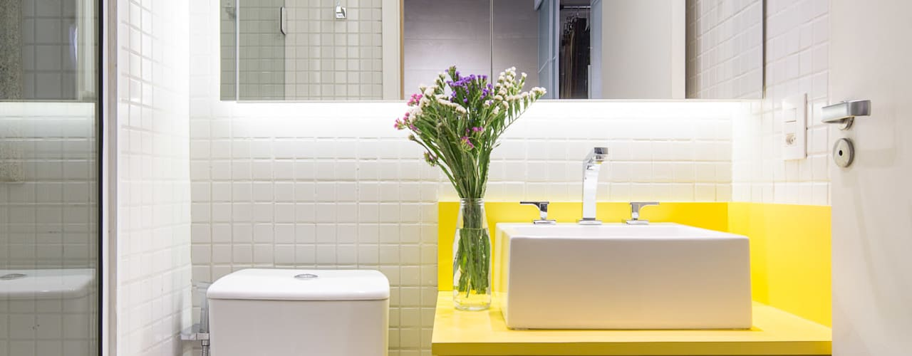 Baños de estilo moderno de Semerene - Arquitetura Interior