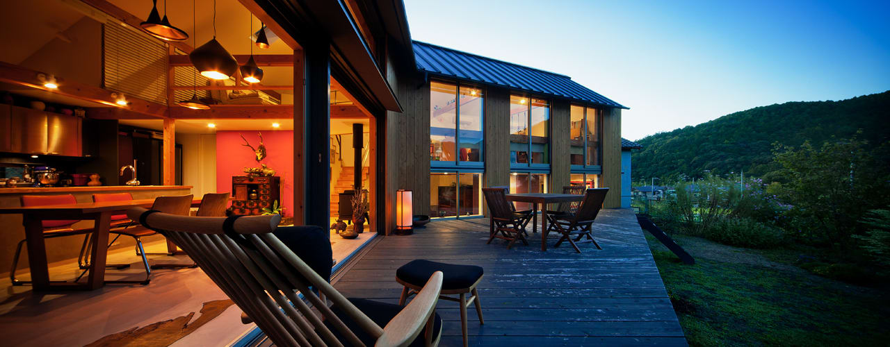 Scandinavian style houses by UZU Scandinavian