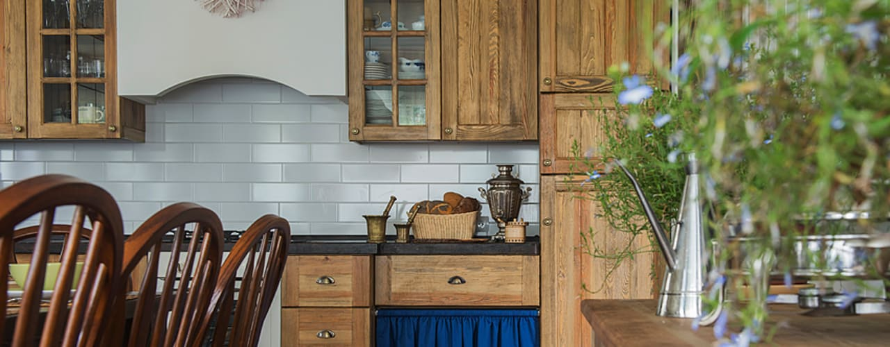 Rustic style kitchen by COUTURE INTERIORS Rustic