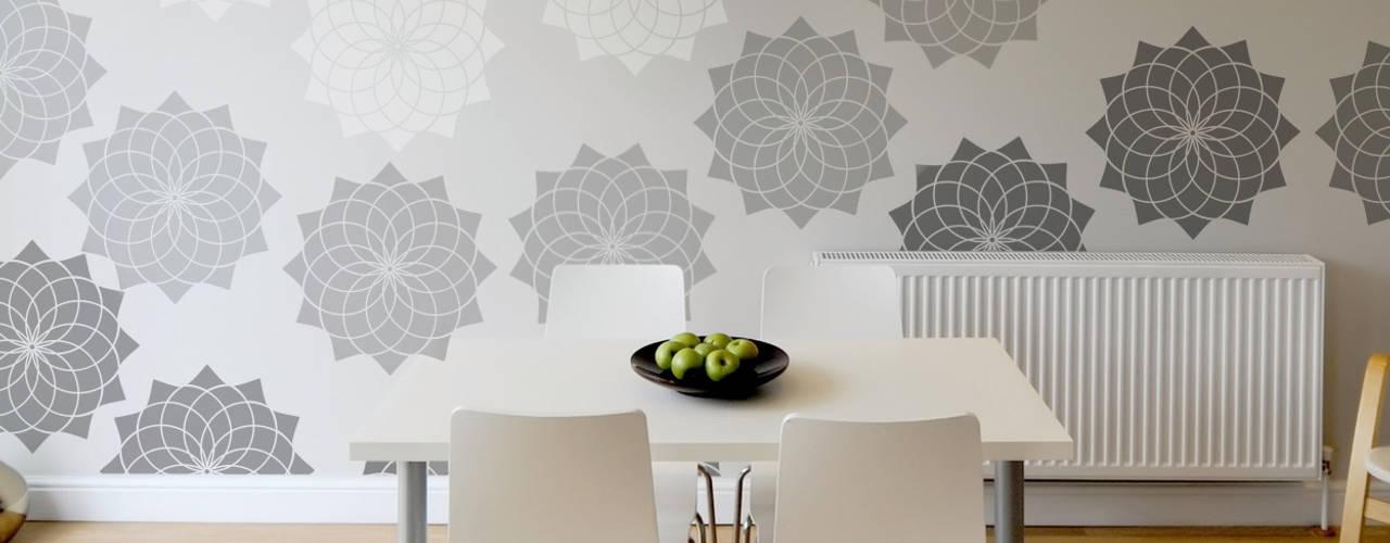 Stencils - Scandinavian Style from The Stencil Studio. The Stencil Studio Ltd Parede e pavimentoCores e acabamentos