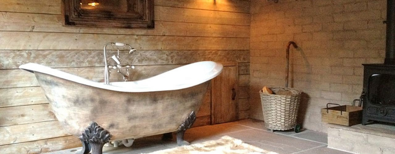 Fletcher's Cottage Spa by Aitken Turnbull Architects Rustic